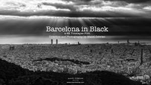 Barcelona en black