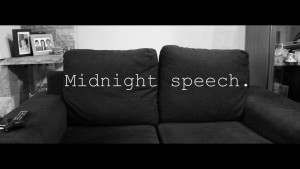 Midnight speech